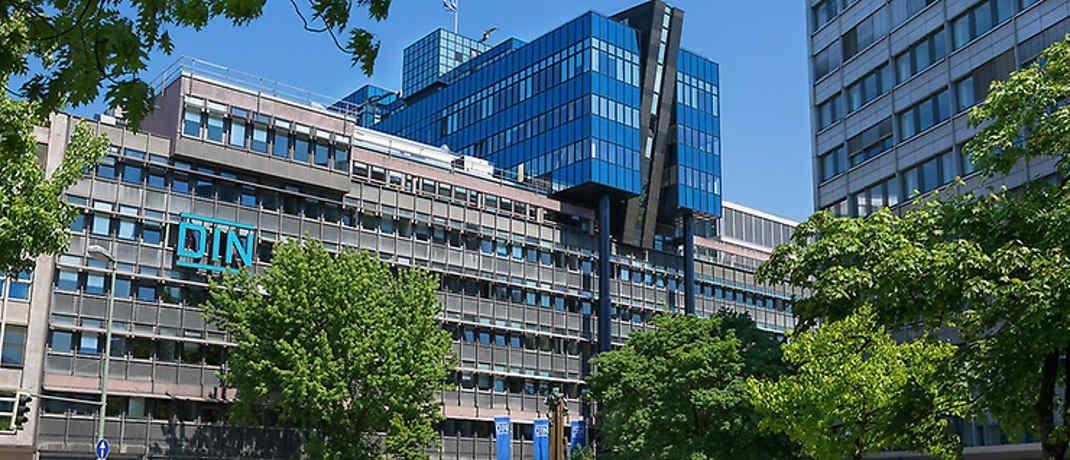 Gebäude des DIN-Instituts in Berlin. |© DIN