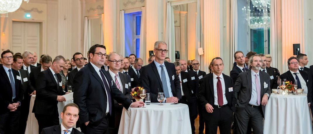 Gäste auf dem Gala-Abend: In der Münchener Residenz prämierte der Elite-Report die besten Vermögensverwalter. |© Elite Report