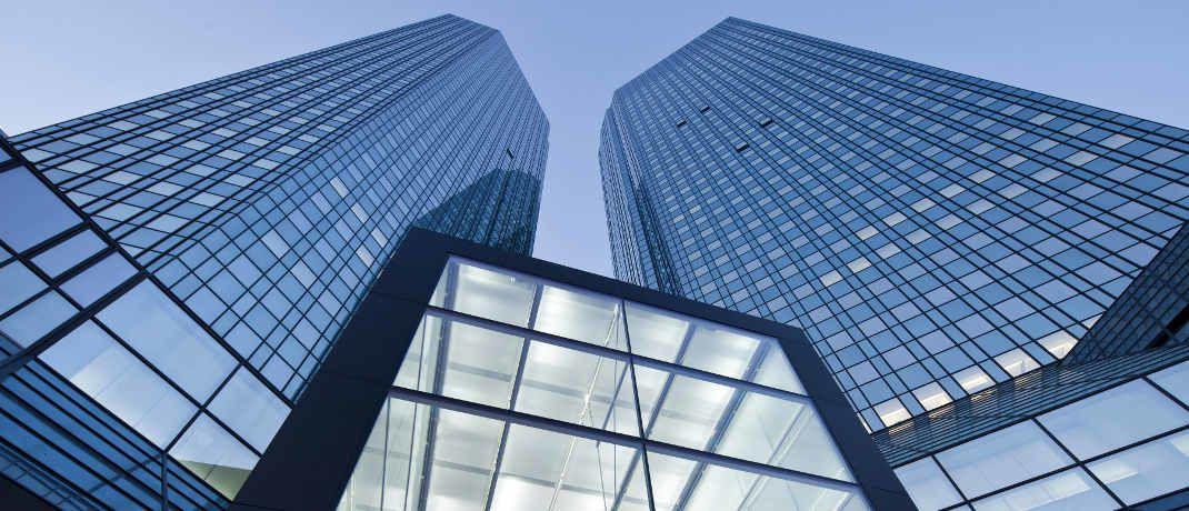 Im Visier der Ermittler: Die Zentrale der Deutschen Bank in Frankfurt|© Deutsche Bank