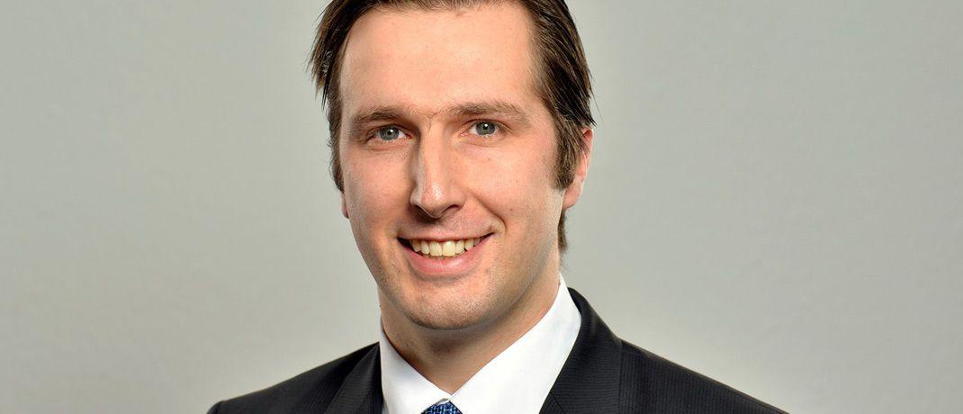 Alrik Haug ist Vorstand der Reuss Private Deutschland|© Reuss Private Deutschland