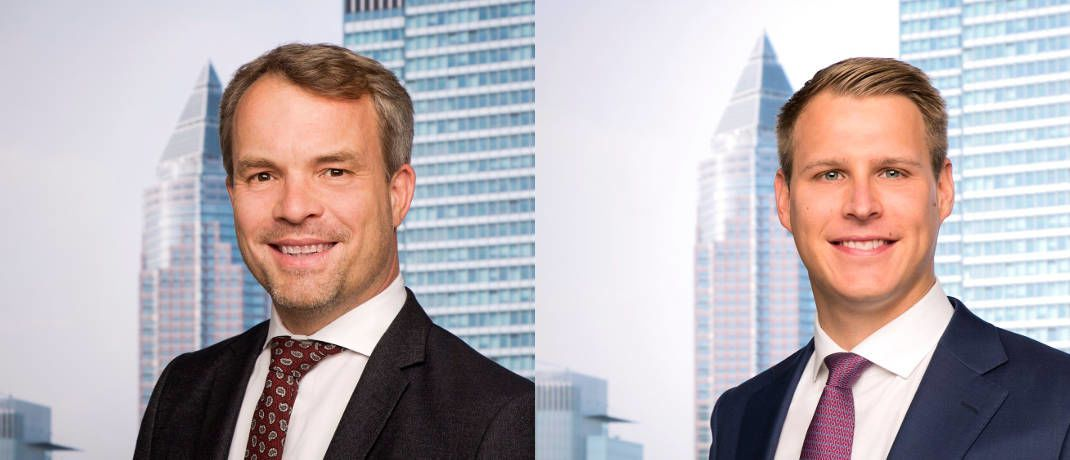 Neu bei Universal-Investment: Boris Wetzk (links) und Max Gutsche | © Universal-Investment
