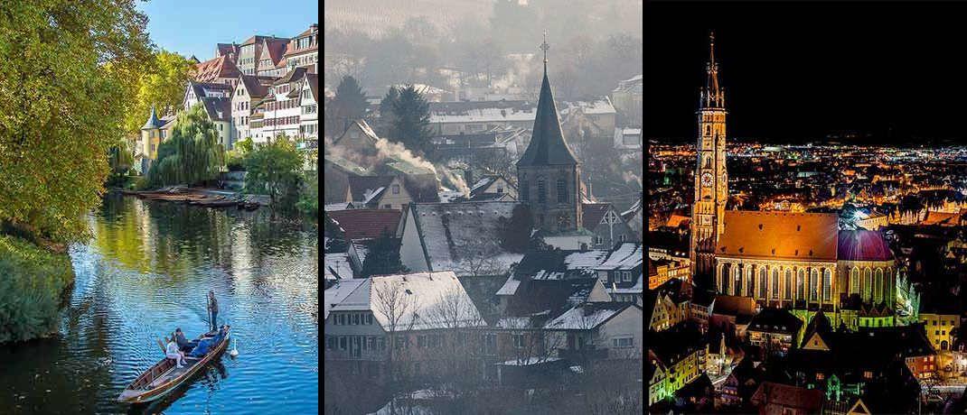 Drei Mittelstädte, die zu den teuersten in Deutschland gehören: Wir verraten hier noch nicht, welche es sind|© Pixabay