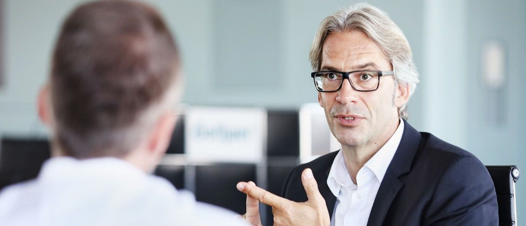 Oliver Brüß ist Vertriebsvorstand der Gothaer: Er wünscht sich für 2019 eine Regulierungspause von der Politik.|© Gothaer