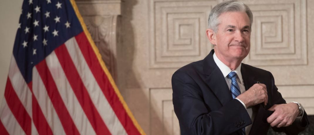 Jerome Powell, Präsident der US-Notenbank Federal Reserve. | © Getty Images