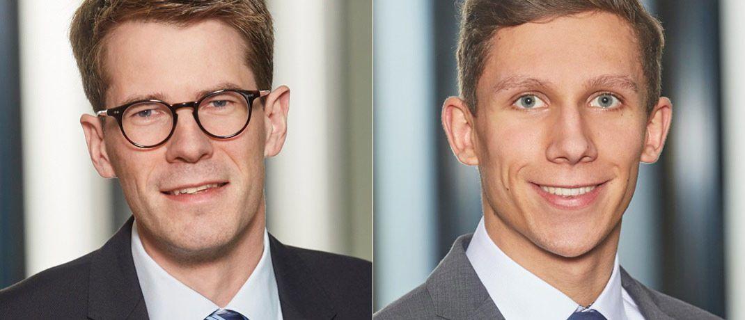 Thomas Kanders (l.) und Michael Fitz von Pricewaterhouse Coopers.|© Pricewaterhouse Coopers
