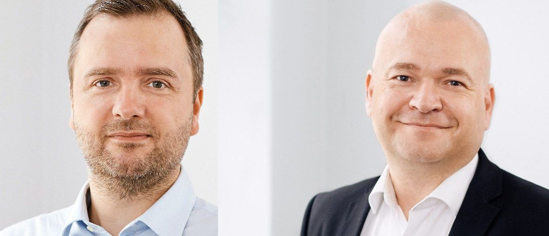 Ulrik Jensen und Kurt Kara (rechts) managen den Maj Invest Global Value Equities.