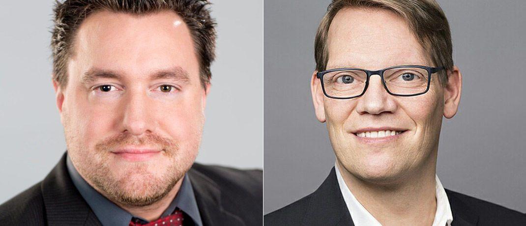 Andreas Ritter (l.) und Dirk Rathjen treten die Nachfolge von IVA-Gründer Andreas Beck an.|© Institut für Vermögensaufbau