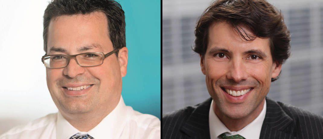 Ehemaliger Fondsmanager und sein Nachfolger: Jamie Horvat (links) und Alex Araujo|© M&G