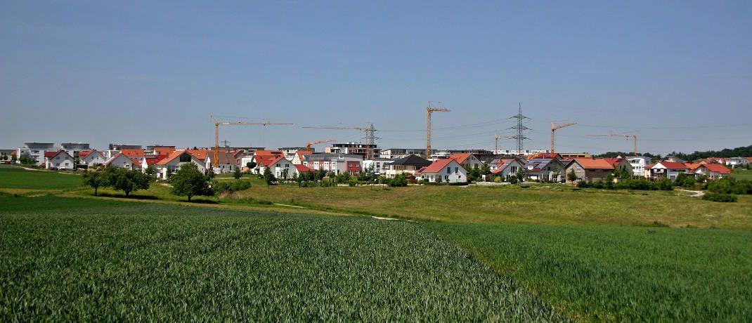 Dank Mietpreisbremse künftig ein seltenes Bild?: Wohnungsbau in Deutschland|© Catkin / Pixabay