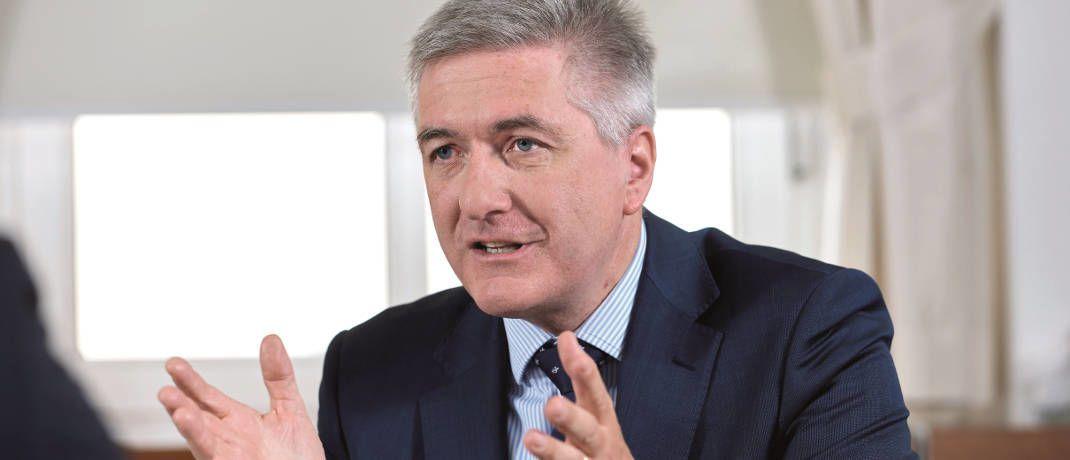 Bernd Meyer, Chefanlagestratege und Leiter für Mischanlagen bei der Berenberg Bank|© Andreas Mann
