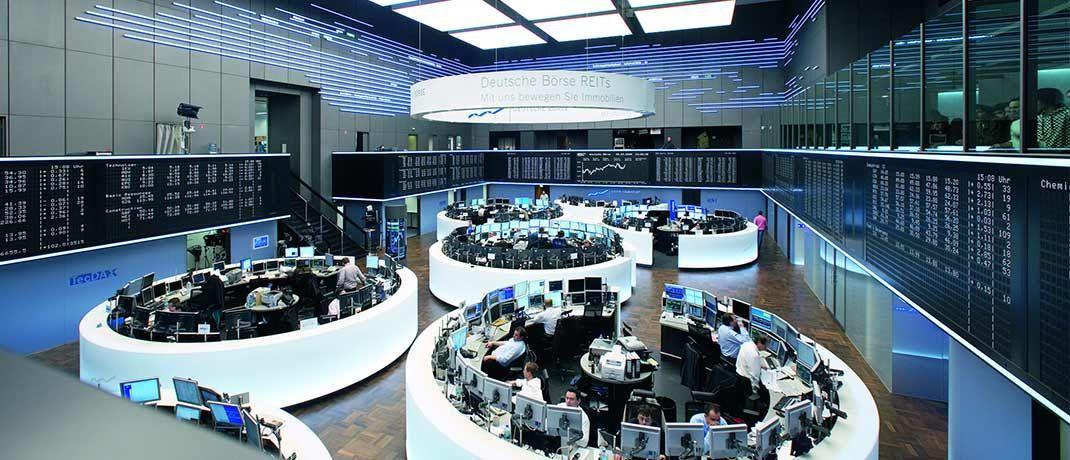 Handelssaal der Frankfurter Börse|© Deutsche Börse AG
