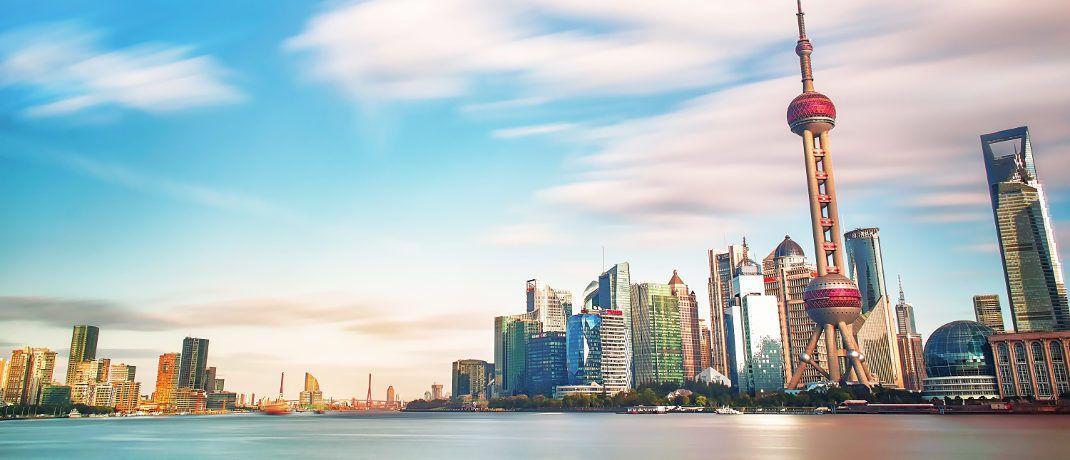 Wirtschaftsmetropole Shanghai: China ist das wichtigste Schwellenland der Welt.|© zhang kaiyv