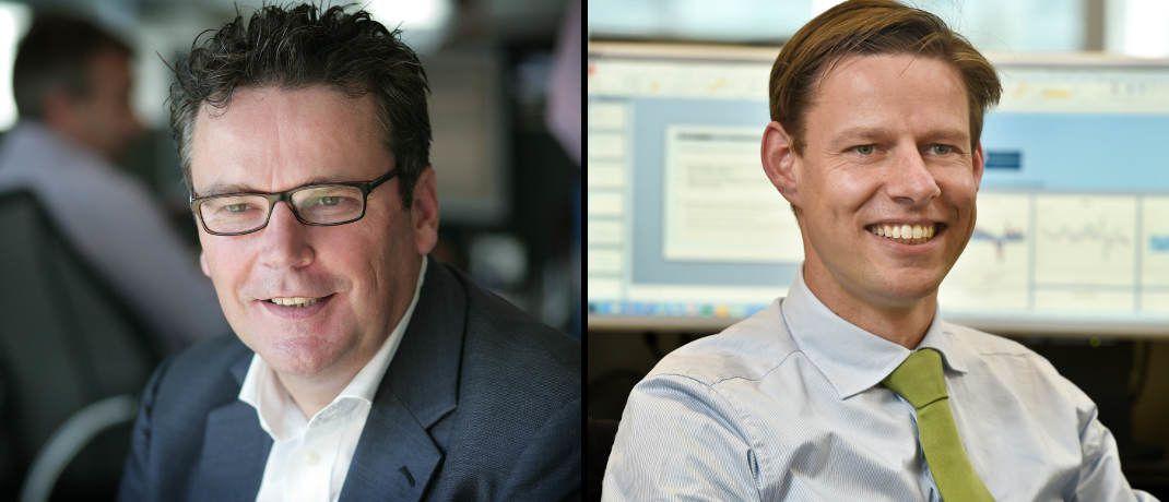 Fondsmanager bei LGIM: Emiel van den Heiligenberg (links) und Willem Klijnstra|© LGIM