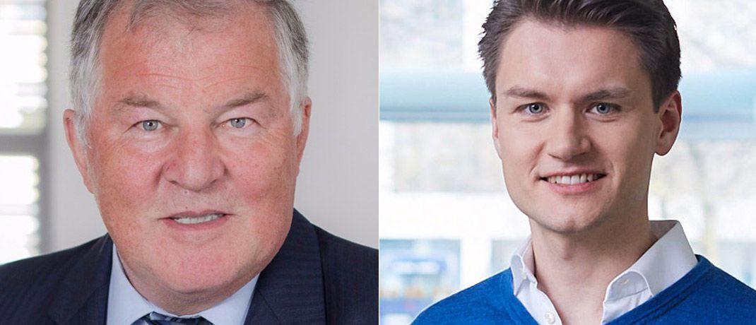 Peter Dobler (l.), Geschäftsführender Gesellschafter von PS Plus, und Christian Ropel, Mitgründer von Weadvise.