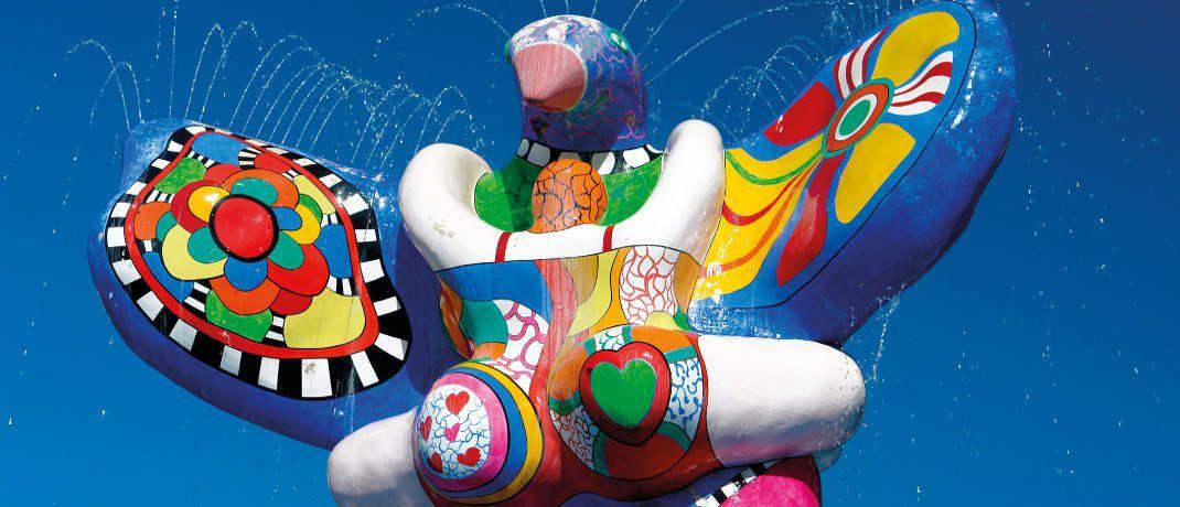 Lebensretter-Brunnen von Niki de Saint-Phalle: Mischfonds sollen Börsenturbulenzen abfedern können|© Foto: Thomas Max Müller/pixelio.de