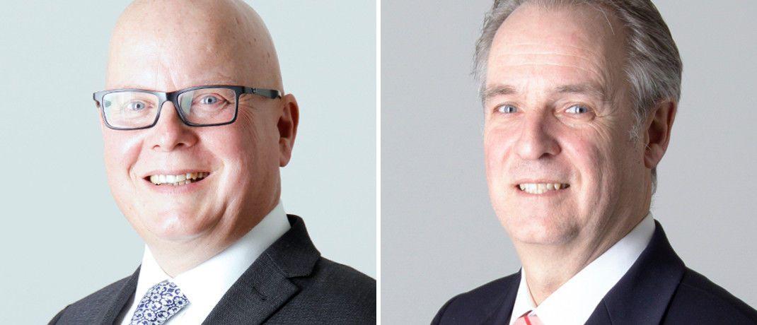 Neu bei Warburg: Frank Prüfer (links) und Guido Hupe © Warburg