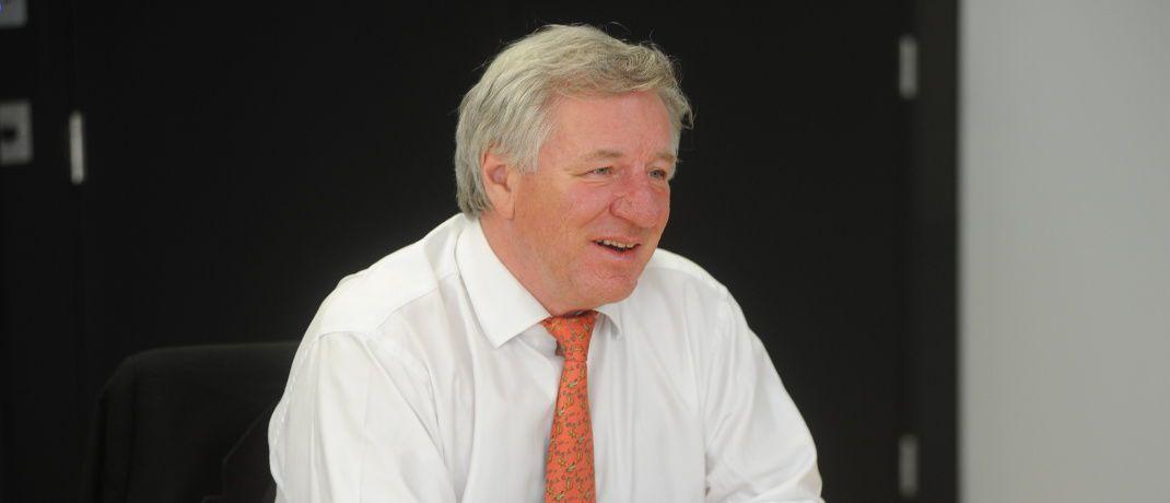 """Martin Gilbert: Der Co-Chief Executive bei Aberdeen Standard Investments kommentiert die Aussichten für China-Investoren im """"Jahr des Schweins"""" mit Humor: """"Schwein muss man haben."""""""