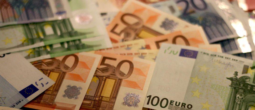 Euro-Banknoten: 1 Euro entspricht aktuell rund 1,13 US-Dollar. © Pixabay