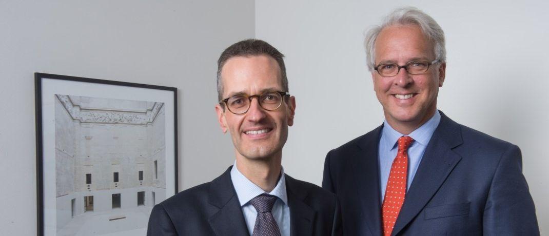 Ernst Konrad und Georg Graf von Wallwitz, Geschäftsführer von Eyb & Wallwitz Vermögensmanagement und Fondsmanager der Phaidros Funds|© Eyb & Wallwitz