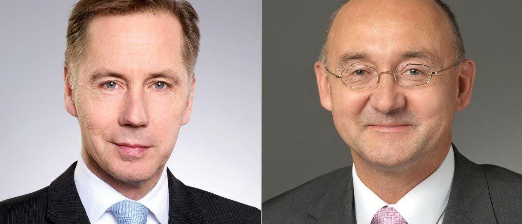 Der neue Geschäftsführer von Lampe AM, Bernd Scherer (l.), und Neuzugang Stefan Zayer. |© Lampe AM