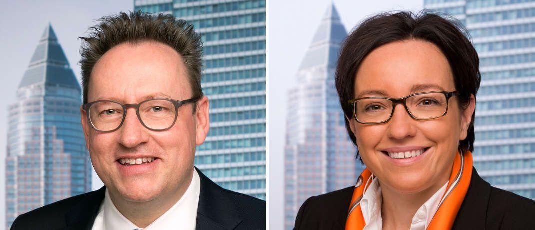 Rücken in neue Positionen auf: Michael Reinhard und Katja Müller|© Universal-Investment