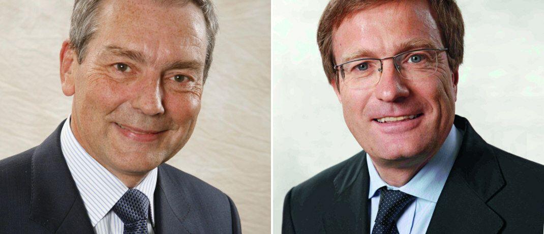 Philippe Champigneulle und Jean-Charles Mériaux (li.): Die beiden Fondsmanager verantworten den konservativen Europa-Mischfonds DNCA Invest Eurose (ISIN: LU0284394235).|© DNCA Finance