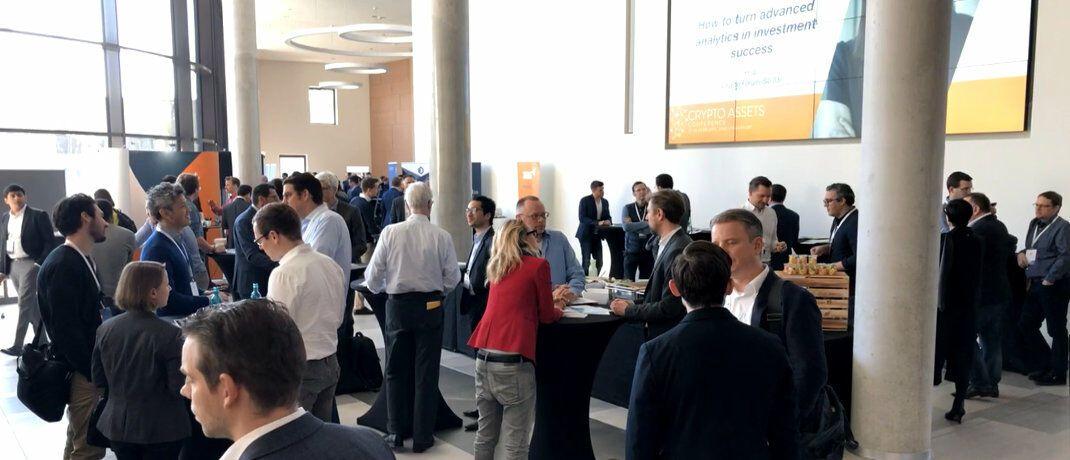 Volles Haus auf dem Campus der Frankfurt School bei der diesjährigen Crypto Assets Conference