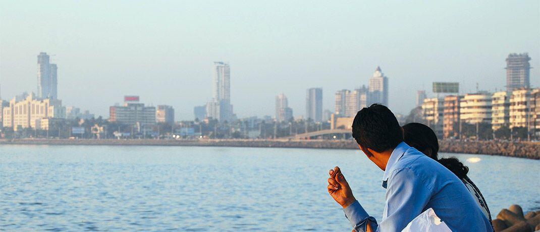 Paar in Mumbai, Indien: Im Templeton Emerging Markets Balanced Fund stellt der Subkontinent derzeit die zweitgrößte Länderposition dar.