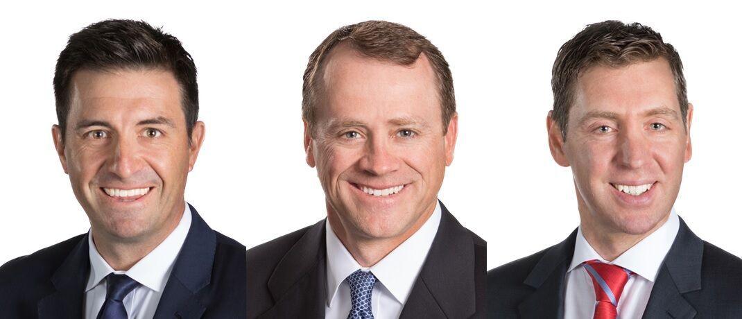 Nick Maroutsos (li.) managt zusammen mit Jason England (Mi.) und Dan Siluk den neu aufgelegten Fonds von Janus Henderson.|© Janus Henderson Investors