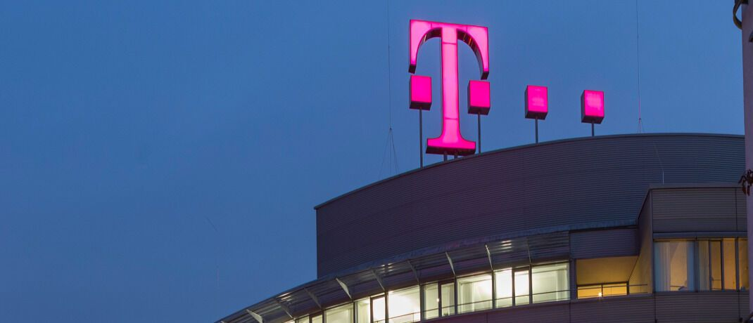 Zentrale der Deutschen Telekom in Bonn. Die Aktie ist bei deutsche Privatanlegern am beliebtesten