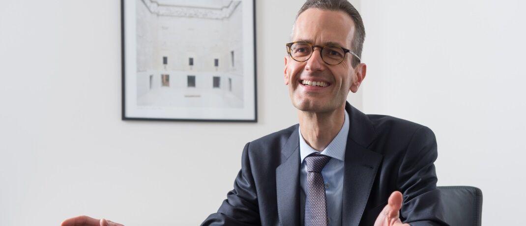 Ernst Konrad, Fondsmanager und Geschäftsführer bei Eyb & Wallwitz, hält eine Wiederaufnahme des Anleihekaufprogramms durch die EZB für möglich. |© Eyb & Wallwitz