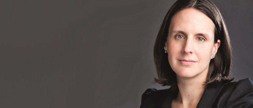 Jessica Ground leitet bei Schroders das Nachhaltigkeitsteam.