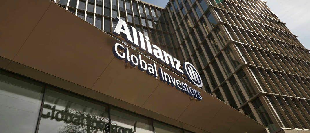 Firmeneingang von Allianz Global Investors in Frankfurt am Main.|© AGI