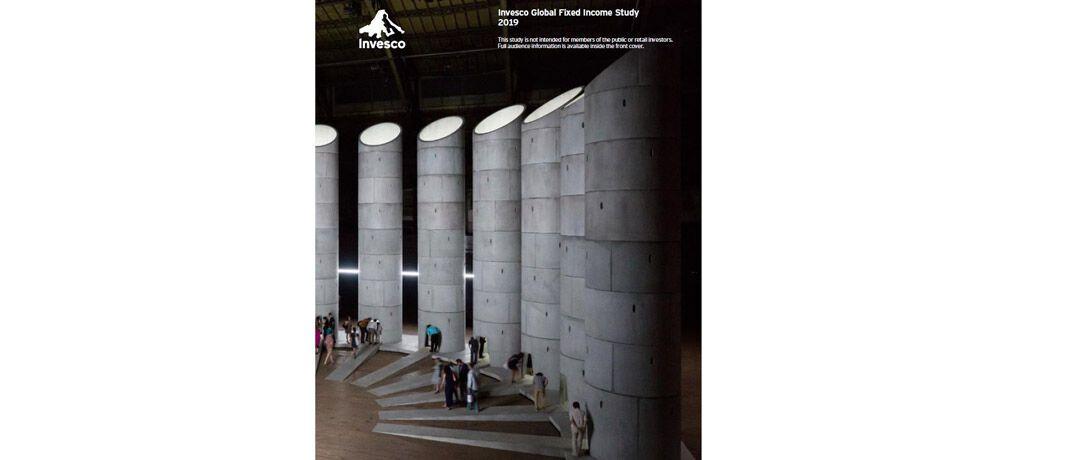 Das Cover der Fixed-Income-Studie von Invesco: Die Untersuchung basiert auf Interviews mit 145 Anleiheexperten und Investmentchefs mit einem Anlagevermögen von insgesamt 14,1 Billionen US-Dollar.|© Invesco