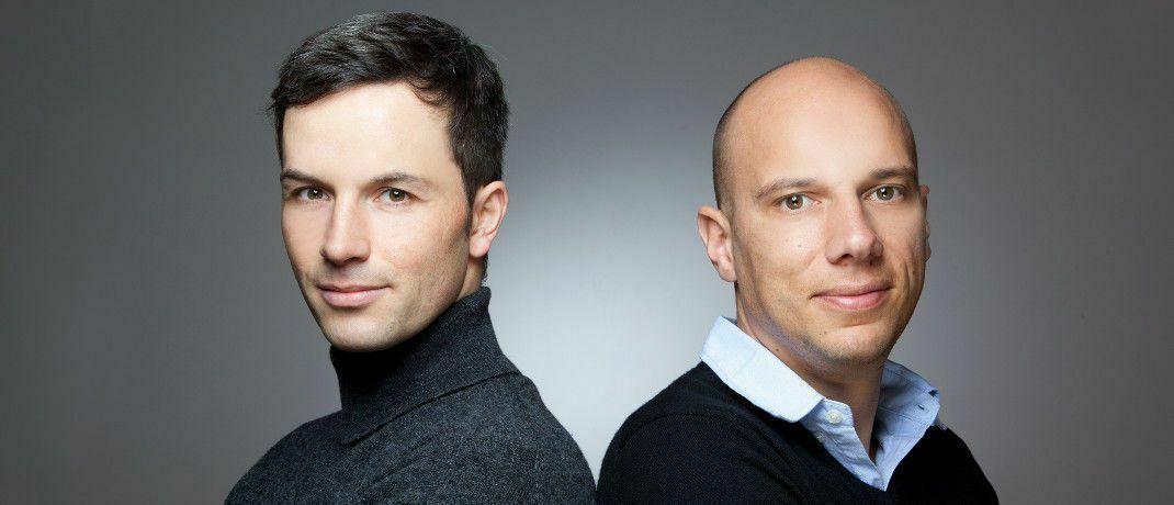 Sehen hierzulande eine Rezession voraus: Marc Friedrich (links) und Matthias Weik, Buchautoren und Finanzberater|© Christian Stehle, Asperg