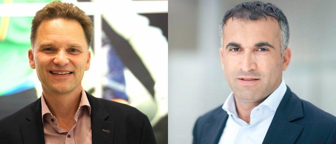 Baki Irmak (r.) und Stefan Waldhauser