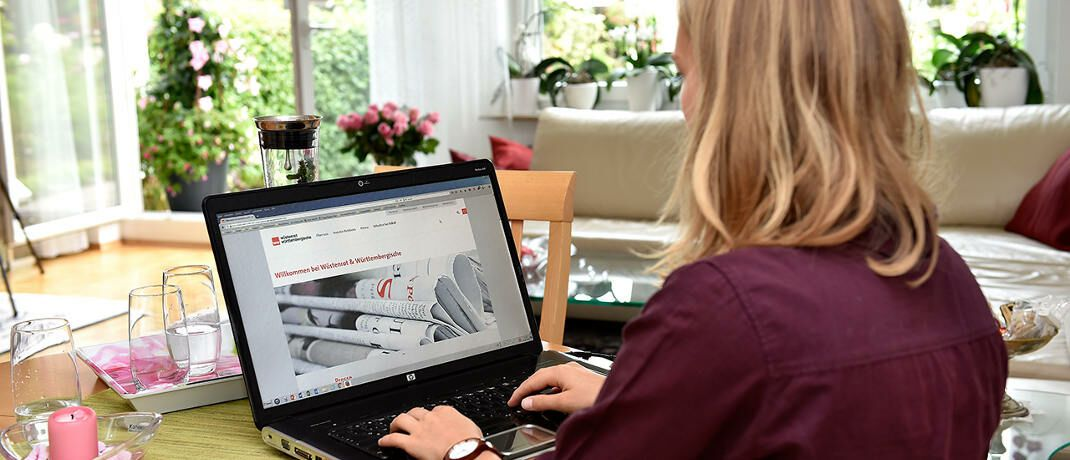 Internetrecherche auf der W&W-Homepage: Kunden der privaten Krankenversicherung des Stuttgarter Konzerns können ab sofort ein neues Online-Angebot in Anspruch nehmen. © Wüstenrot & Württembergische (W&W)