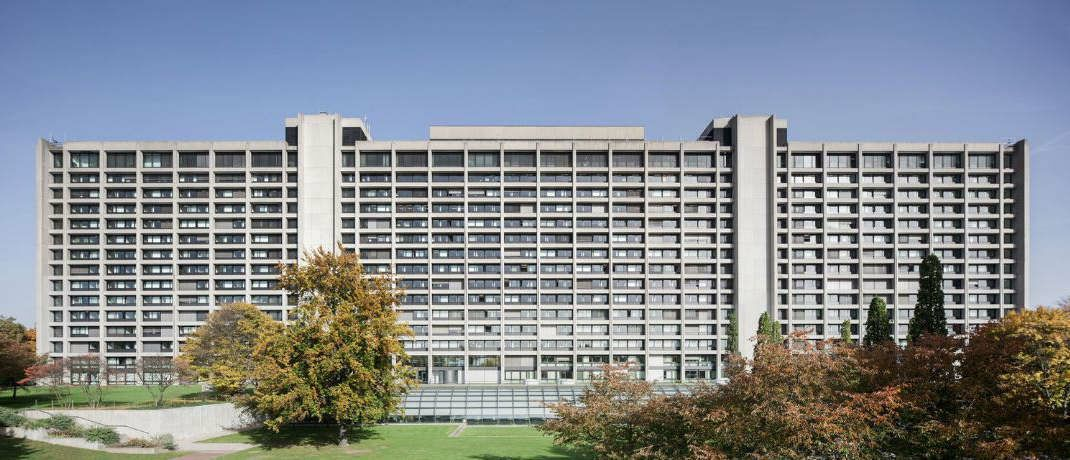 Bundesbank-Hauptsitz in Frankfurt am Main. Die Zentrale aller deutschen Banken hat erstmals seit zweieinhalb Jahren wieder eine negativ verzinste zehnjährige Anleihe ausgegeben.|© Bundesbank/
