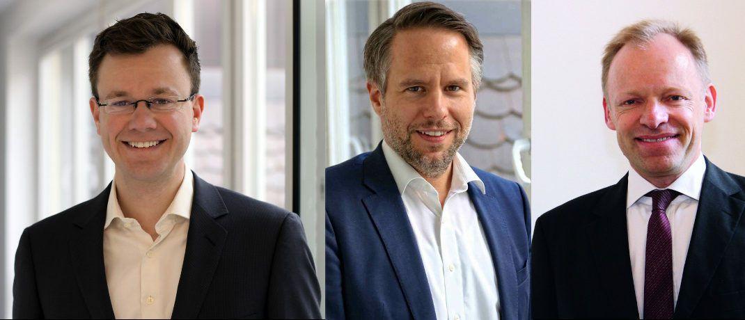 Von links: Maximilian Blömer, Ifo-Zentrum für Makroökonomik und Befragungen; Andreas Peichl, Ifo-Zentrum für Makroökonomik und Befragungen; Clemens Fuest, Präsident des Ifo-Instituts in München.|© Ifo-Institut