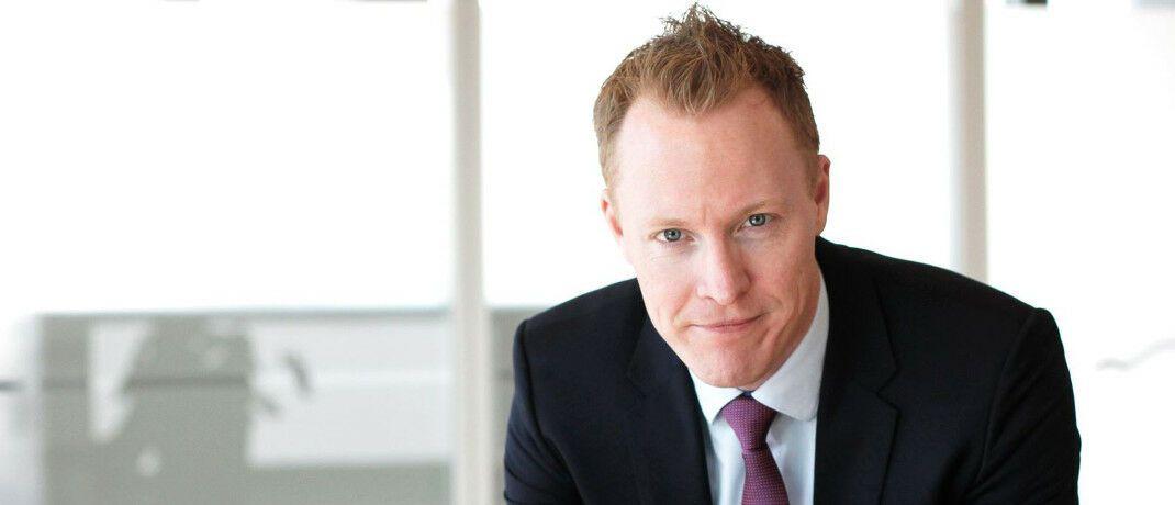 Knut Gezelius managt den Aktienfonds Skagen Global.