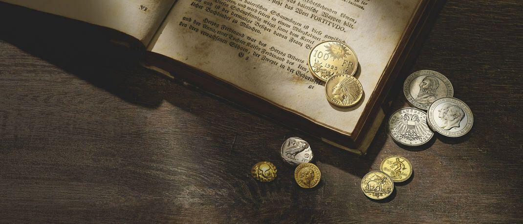Gold und Silber: Das künftige Preisverhältnis der wichtigsten Edelmetalle ist für Anleger schwer vorherzusagen, erklärt Thorsten Polleit, Chefökonom der Degussa Goldhandel.|© Degussa Goldhandel