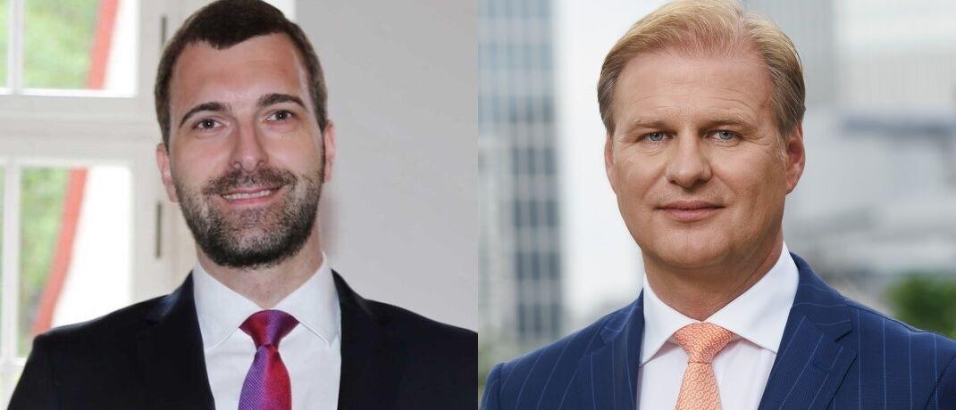 Thomas Pohlmann (l.), Alternatives Director Real Estate bei Schroders und Achim Küssner, Geschäftsführer der Schroder Investment Management GmbH