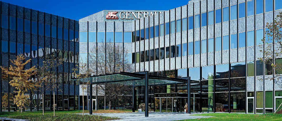 Unternehmenssitz der Generali in München: Im Juli 2018 kündigte der Konzern an, die Mehrheitsanteile (89,9 Prozent) der Generali Lebensversicherung AG mit rund 4 Millionen Verträgen im Bestand an die Viridium Gruppe zu verkaufen, führt der VZBV als aktuellen Beispielfall an.|© Generali Deutschland AG