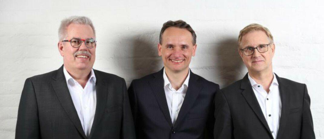 Michael Gillessen, Frank Eichelmann, Sven Hoppenhöft (v.l.) sind Gründer der Beratungsgesellschaft Pro Boutiquenfonds.|© Pro Boutiquenfonds