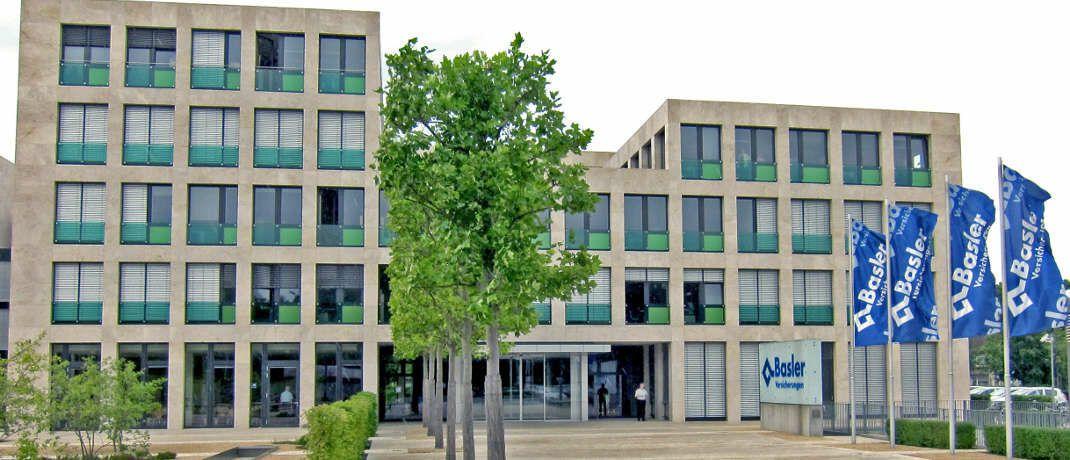 Sitz der Basler Versicherungen in Bad Homburg: Das bundesweite Geschäft des Versicherers ist aufgeteilt auf das Kompetenzzentrum Nichtleben in Bad Homburg sowie das Kompetenzzentrum Leben in Hamburg.|© Basler Deutschland