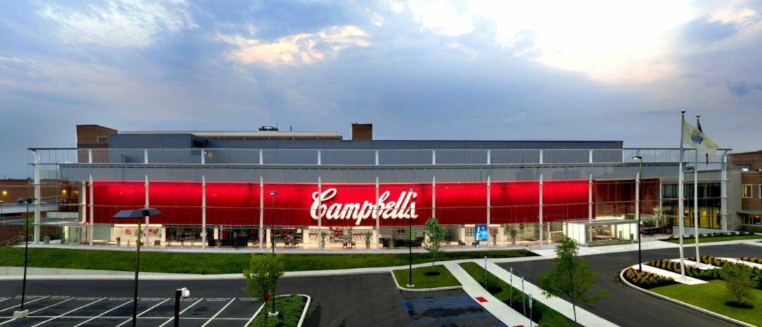 Hauptsitz des Nahrungsmittelherstellers Campbell Soup Company. Die Aktie ist im Steyler Fair Invest - Equities vertreten.|© Campbell Soup Company