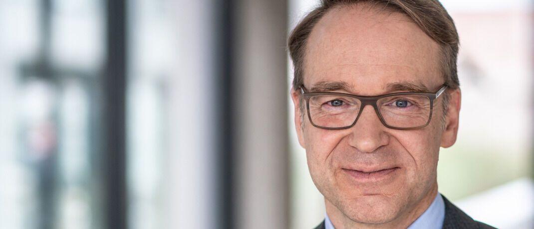Bundesbank-Präsident Jens Weidmann. Er setzt auf zwei ETFs auf den Dax und den MSCI AC World.|© Deutsche Bundesbank