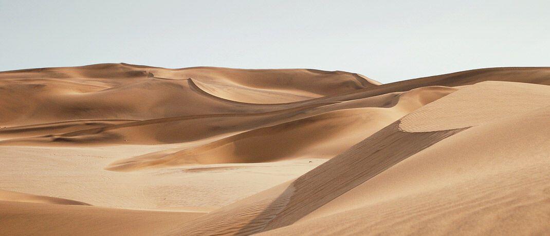 Megatrend Nachhaltigkeit: Frisches Wasser kommt aus der Wüste und ist theoretisch überall vorhanden.|© Unsplash.com