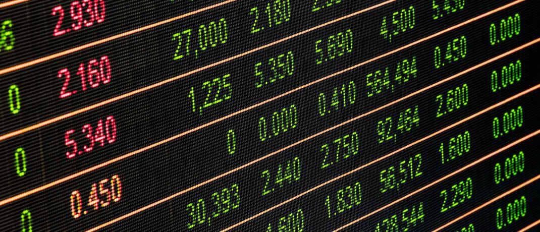 Kurstafel: Unsere aktuelle Statistik zeigt wieder die besten Produkte am deutschen Fondsmarkt. © Pixabay