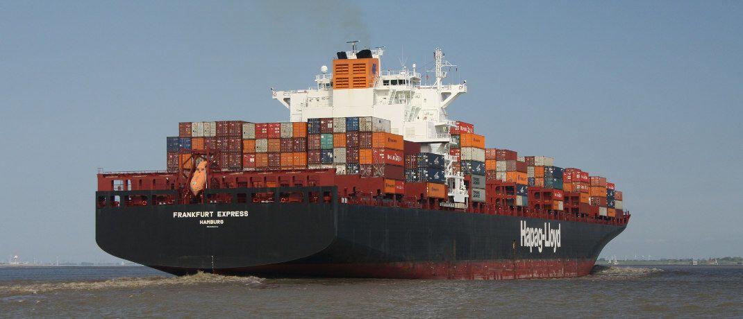 Containerschiff: Von der Insolvenz der P&R-Gesellschaften sind nach Angaben des Amtsgerichts München bis zu 54.000 Anleger betroffen.|© BettinaF / <a href='http://www.pixelio.de/' target='_blank'>pixelio.de</a>